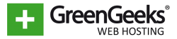 Logo hostingu GreenGeeks