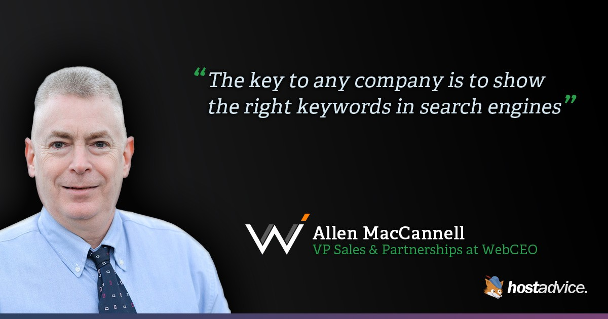 Interviu cu Allen MacCannell, VP Sales and Partnerships at WebCEO.